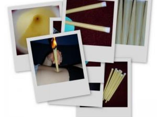Telové sviečky (malé balenie)