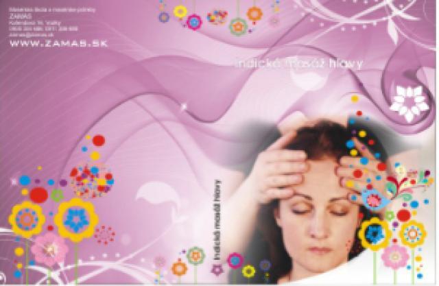 Indická masáž hlavy - inštruktážne DVD