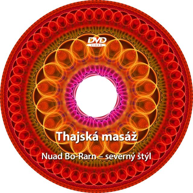 Thajská masáž - DVD